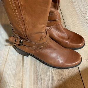 Liz Claiborne Brown leather boots sz 8